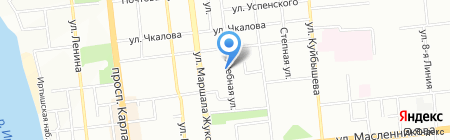 Модерн на карте Омска