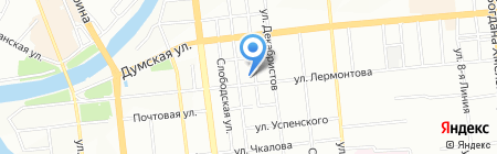 Платёжный терминал ОТП Банк АО на карте Омска