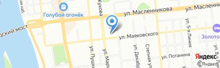 Следственное Управление Следственного комитета РФ по Омской области на карте Омска