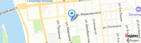 Император на карте Омска