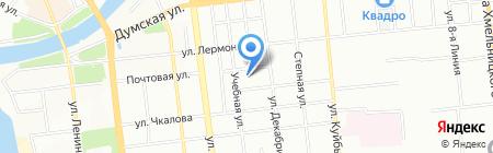 Компонент на карте Омска