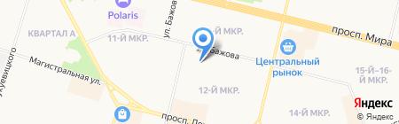 Детский сад №38 на карте Сургута