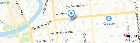 Гала Тур на карте Омска