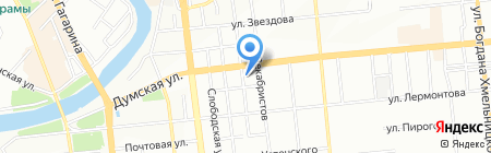 РИЧ на карте Омска