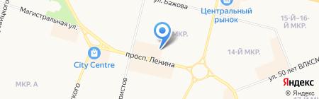 Фрукты и Овощи на карте Сургута