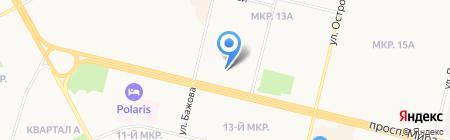 Промсиб на карте Сургута