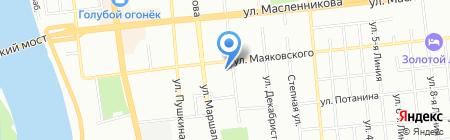 Нимфа на карте Омска
