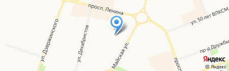 Квартирант на карте Сургута
