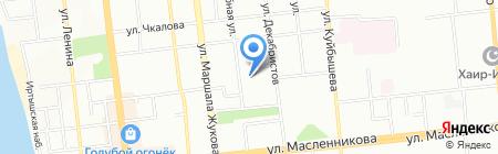 ДВА плюс на карте Омска