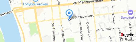 Онис на карте Омска