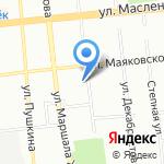 Автостэлс на карте Омска