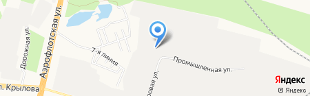 НВА на карте Сургута