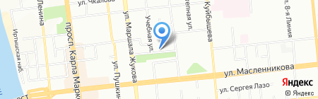 МТС на карте Омска