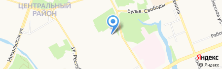 Сургутский естественно-научный лицей на карте Сургута