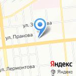 Автодок на карте Омска