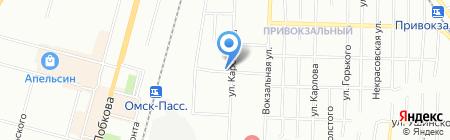 IZюм на карте Омска