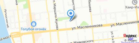 СантГарант на карте Омска