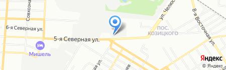 Лентяй на карте Омска