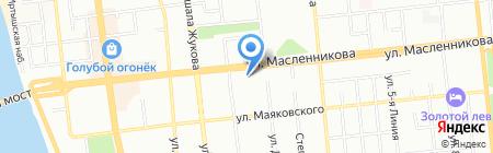 Трак-мастер Омск на карте Омска