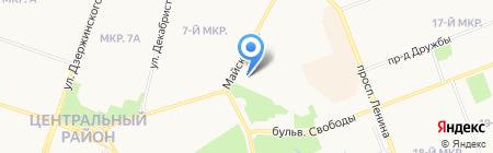Нотариус Рудюк И.А. на карте Сургута