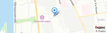 АРСЕНАЛ БЕЗОПАСНОСТИ на карте Омска