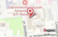 Схема проезда до компании Биомедсервис в Омске