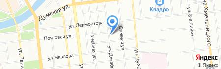Омск-Стандарт на карте Омска