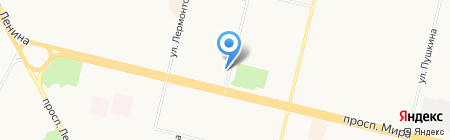 Зооэлит на карте Сургута