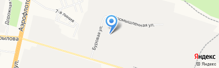Кит на карте Сургута