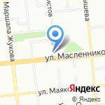 Нимфа-Трейд на карте Омска