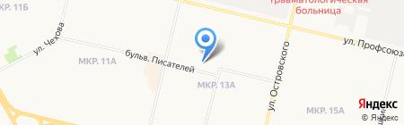 Прогимназия на карте Сургута