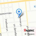 Сибиряк на карте Омска