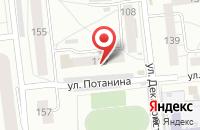 Схема проезда до компании Торговая Компания «Оптснаб» в Омске