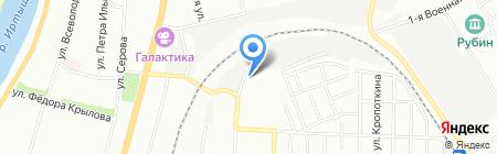 Афина Паллада-Новосибирск на карте Омска