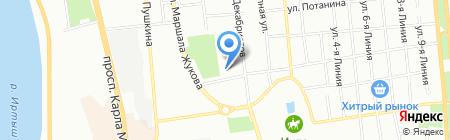 ОВК-Сибирь на карте Омска