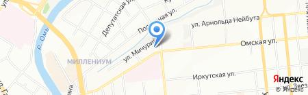 Авторский стиль на карте Омска