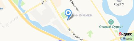Мастерская по ремонту бытовой техники на карте Сургута