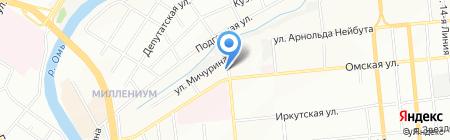 ГисАльянс на карте Омска