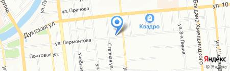 РЕКО на карте Омска