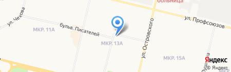 Запсибстройсервис-С на карте Сургута