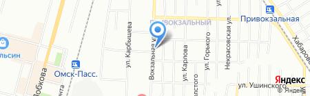 Холди на карте Омска