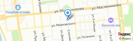 Сытна Хата на карте Омска