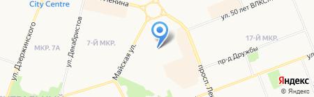 Дента-Имидж на карте Сургута