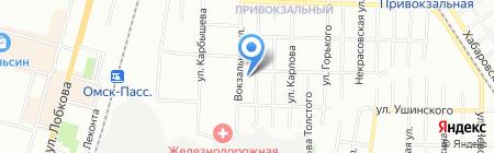 Дебют на карте Омска