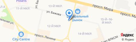 Детская библиотека №25 на карте Сургута
