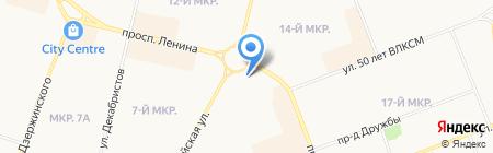 ЮграСпорт на Авроре на карте Сургута