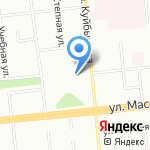 Аладжин на карте Омска
