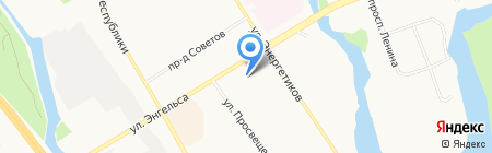 Детский сад №39 на карте Сургута