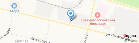 СнабСервис на карте Сургута
