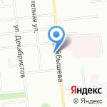 Фудзи на карте Омска